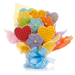 Daisies & Hearts Cookie Bouquet