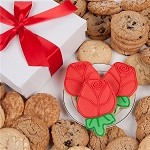 Red Roses Cookie Gift Box