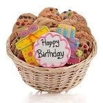 Happy Birthday Cookie Gift Basket