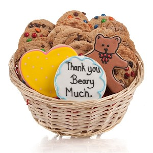 Thank You Beary Much Signature Cookie Gift Basket