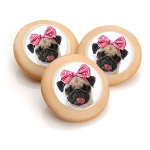"Glazed Photo Sugar Cookies- 3.0"" Circle- Individually Wrapped"